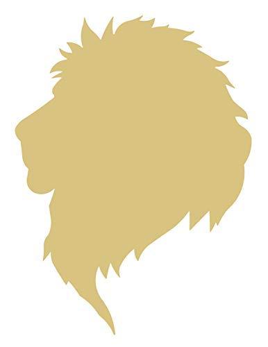 Burkewrusk Lion Head Style 2 Unfinished Wood Shape