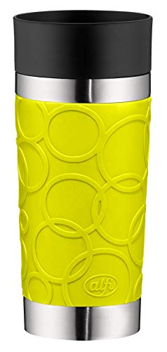 Alfi Thermos Cup, Stainless Steel, Stainless Steel, Apple Green, 8,2 x 8,2 x 19,0 cm