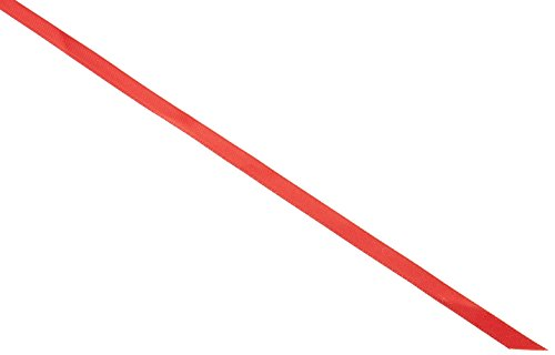 - Kel-Toy Double Face Satin Ribbon, 1/4-Inch by 100-Yard, Red