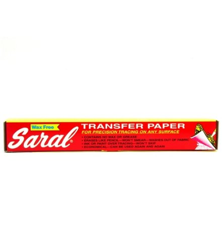 Saral Transfer Tracing Paper -Wax Free ~Big 12 Foot Long Roll ~Graphite