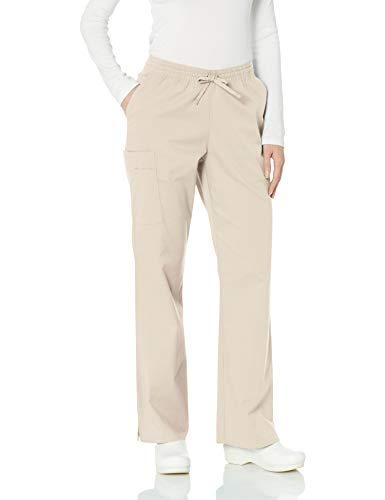 - Amazon Essentials Women's Quick-Dry Stretch Scrub Pant, Khaki, Large