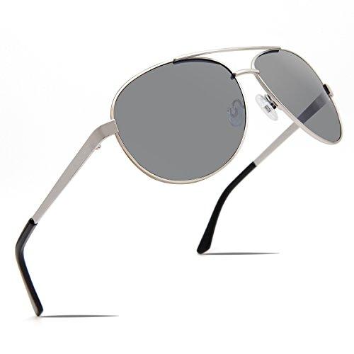 FaceWear Aviator Sunglasses UV400 Lens Nickel Free Metal Frame FW1012 C3 black