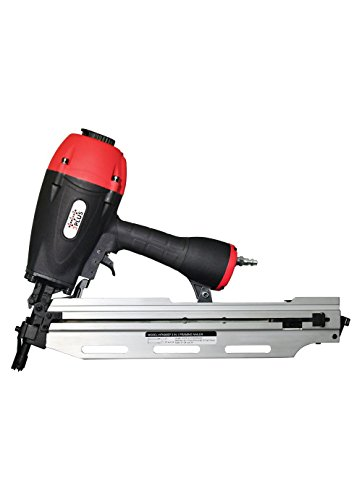 3PLUS HFN90SP 3-in-1 Air Framing Nailer with adjustable magazine for 21/28/34 degree (Four Claw Setting)