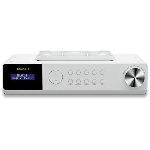 Grundig DKR 1000 BT DAB + keukenradio met Bluetooth en DAB + ontvangst wit