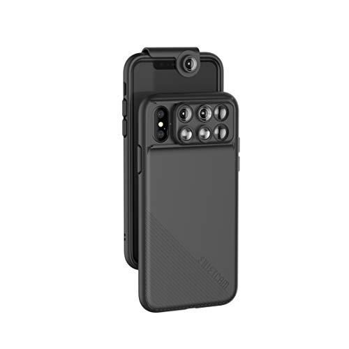 ShiftCam 2.0: 6-in-1 Travel Set with Front Facing Lens Compatible with iPhone X