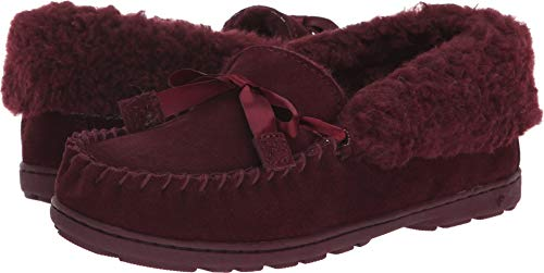 BEARPAW Women's Indio Slipper, Wine, Size 7.0]()