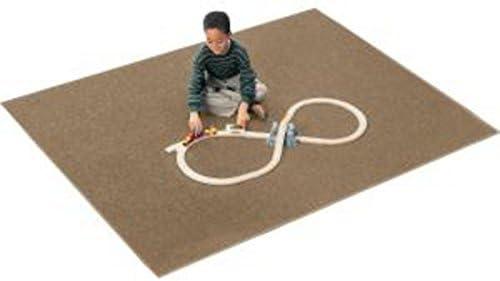 Carpets for Kids 2100.108 Solid Mt. St. Helens Sahara Brown Kids Rug Rug Size 6 x 9