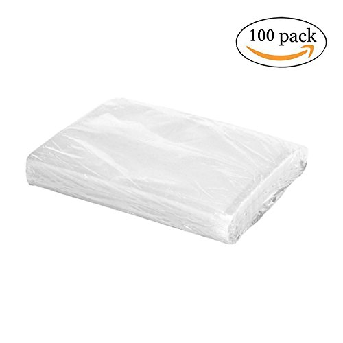 """Vacuum Sealer Bag Food Keeper Easy to Open Design 8""""X12"""" 100 Pack by (Cabelas Oven)"""