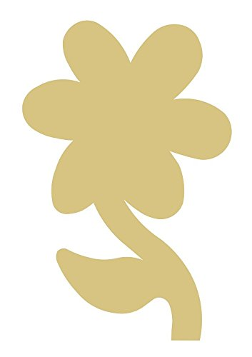 Flower Style 3 Unfinished MDF Wood Cutout Variety of Sizes USA Made Spring Home Garden Decor (6