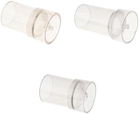 混合サイズ キャンドルモールド 成形 プラスチック製 高温抵抗 手芸 材料 工具 3個入り