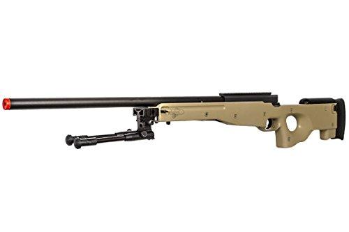 ac4ce7d169bd2 Bravo Full Metal MK98 Bolt Action Sniper Rifle (Tan Bipod Package ...