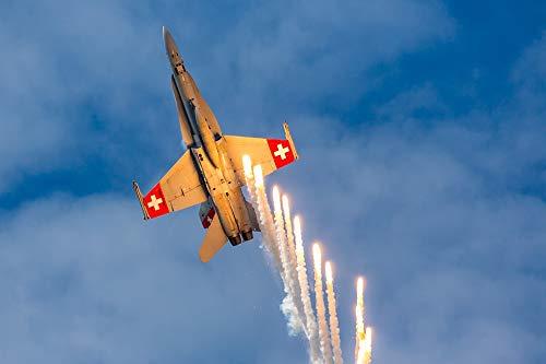 Photography Poster - Mcdonnell Douglas, F A 18, Hornet, 24