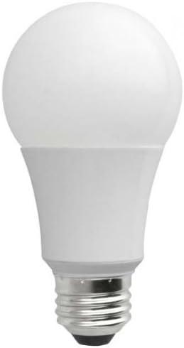FixtureDisplays 9Watt A19 800 Lumen 3000K Dimmable LED Bulb FDK-A19-F2-9W-30K-D-12PK-NF No
