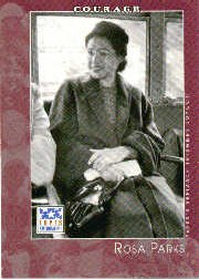 2002 Topps American Pie Baseball Card #89 Rosa Parks (Rosa 2002)