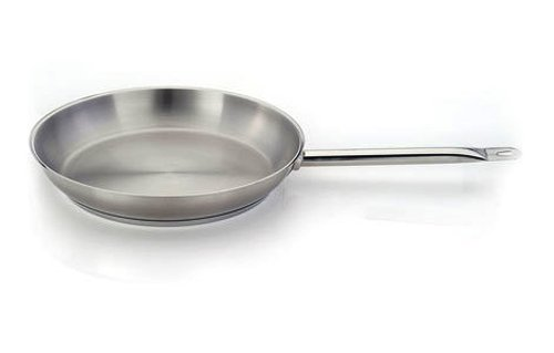 Homichef 15.75 Inch Round Stainless Fry Pan