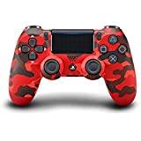 Sony PS4 DualShock 4 Wireless Controller, Red Camou (PS4)