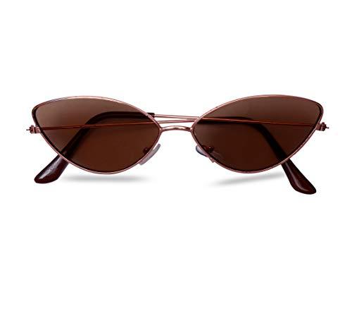 Imported cat eye metal small frame unisex glasses (women girls)