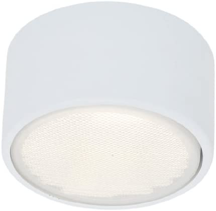 Access Lighting 20742LED-WH Ares LED Light Flush Wall Mount, White