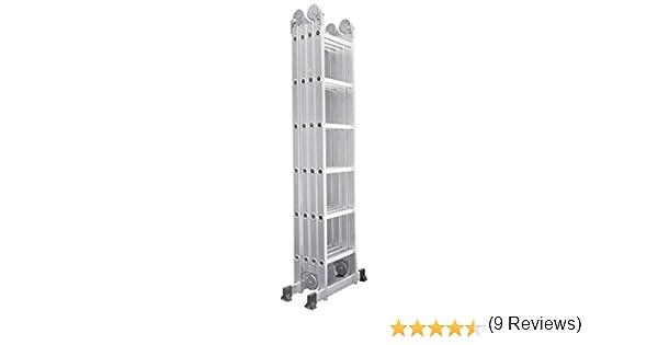 Escalera multifuncion 6.90 mtrs. marca Pro-Steps: Amazon.es: Bricolaje y herramientas