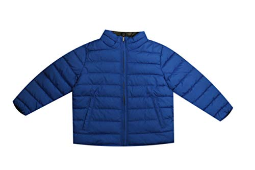 GAP Little Boys Puffer Jacket (3T, Blue)