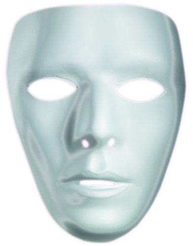 [10475 Blank Male Drama Mask] (Drama Mask Costume)
