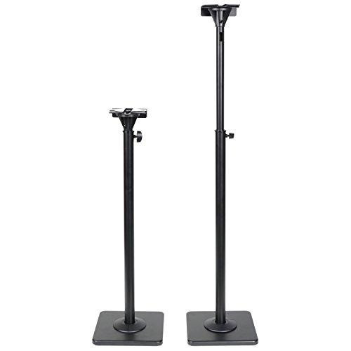 Adjustable Heavy Duty Stands Surround Sound Bookshelf Speakers DA8