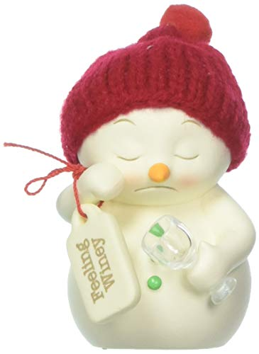 """Department 56 Snowpinions Feeling Winey, 3.25"""" Hanging Ornament, Multicolor"""