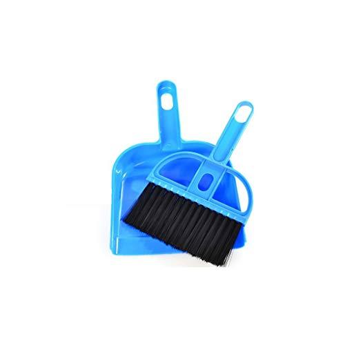 X-SPORT Keyboard Broom Dustpan Set Tiny Pet Waste Shovels Cleaner for Keyboard Car Animal Pet Waste Cleaning ()