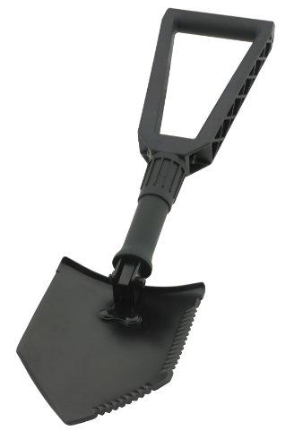 Smittybilt 2728 Matte Black Tri-Fold Shovel R.U.T. Recovery Utility Tool, Outdoor Stuffs