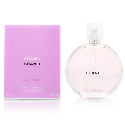 Cha nel Chance Eau Tendre Eau de Toilette Women Spray 3.4 fl oz / 100 ml