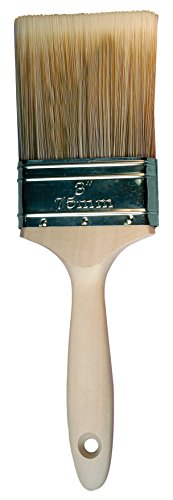 - Pferd 89726 Professional Quality Wall Paint Brush with White Bristle and Wood Handle, 4