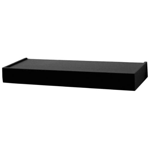 Review John Sterling 0140-36BK Floating Shelf, 36-Inch, Black By Knape & Vogt by Knape & Vogt