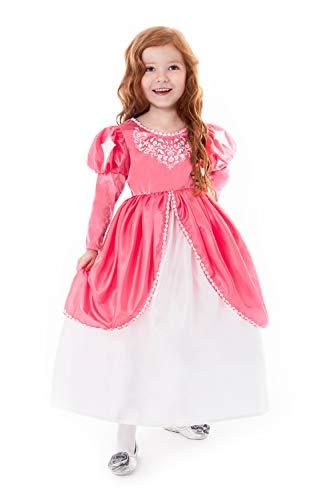 Wedding Dress Costume Ideas (Little Adventures Mermaid Ball Gown Princess Dress Up Costume for Girls (Medium Age)