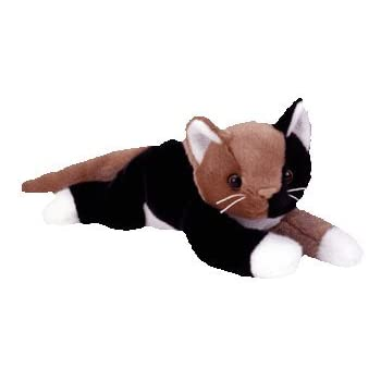 2d3b76920af Amazon.com  TY Beanie Buddy - CHIP the Calico Cat by Ty  Toys   Games
