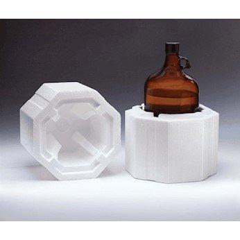 ThermoSafe ShipSafe 338UPS Large Bottle Shipper for 1 Gallon Cider-Jug Bottle, 10