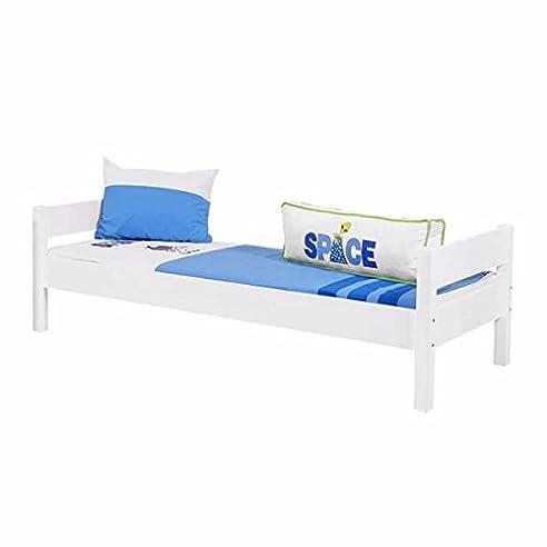 Jugendbett 90 X 200 Dschungel Gästebett Einzelbett Single Bett Mit  Lattenrost Tagesbett Jugendbett Kinderbett Bettgestell Bett