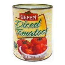 Tomatoes, Dices , 28 oz (pack of 12 ) by Gefen