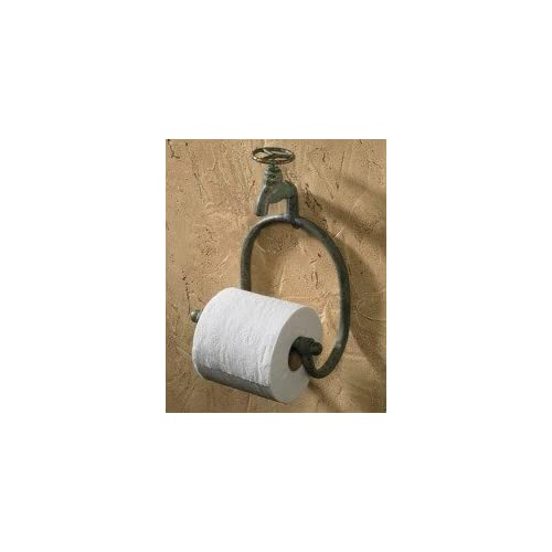 Park Designs Water Faucet Toilet Tissue Holder Green Patina hot sale 2017