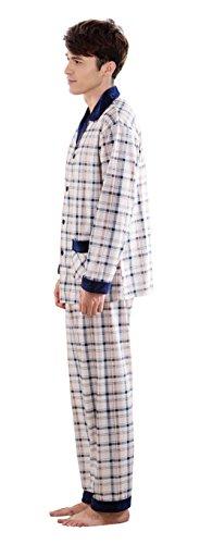 Usura Pigiama Set Blue Due Pigiameria Pajama 4 Uomo Pj Notte 2 Pezzi FUqwzCgA