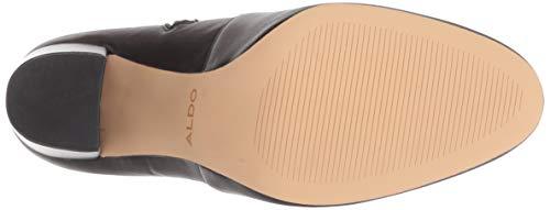 ALDO Women's AURELLA Fashion Boot, Black Synthetic, 6 B US