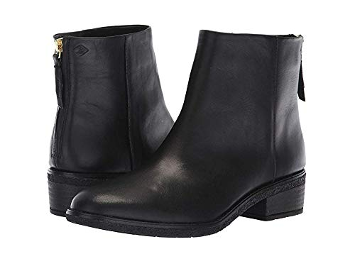 SPERRY Women's Maya Belle Ankle Boot, Black, 6 M US