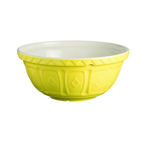Mason Cash Earthenware Mixing Bowl, S24, 9-1/2-Inches, Bright ()