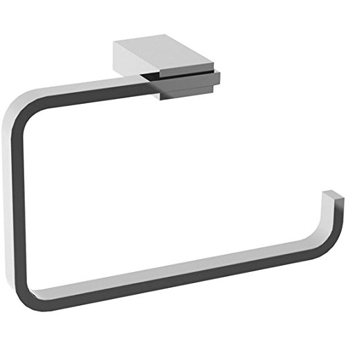 Gedy 3870-13 Towel Ring, 1.15'' L x 7.87'' W, Chrome