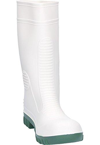 Dunlop - Botas de material sintético para mujer blanco - blanco