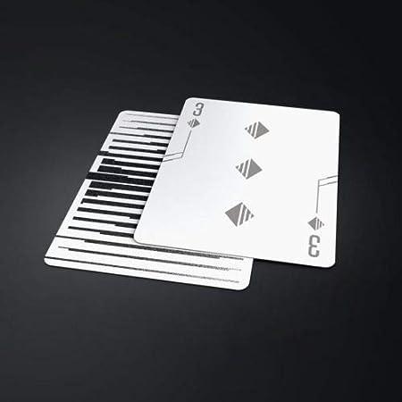 Amazon.com: USPCC Mono – X tarjetas de juego Rara negro y ...