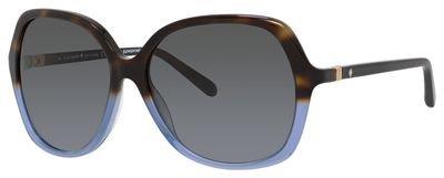 Kate Spade Jonell/S Sunglasses Havana Blue Havana / Gray Gradient