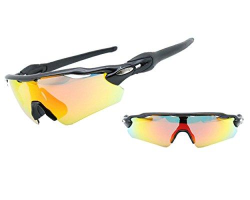 Silver A Gafas Gafas De De Al Material Aire La Sol Deporte Libre Lente De Montaña Marco MYLEDI Medio De Black Prueba Viento Tr PC BxqfwPP