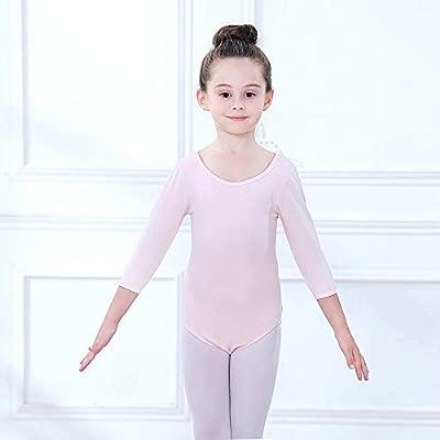 CHICTRY Ni/ñas Maillot de Ballet Danza Mangas Cortas El/ástico Vestido de Encaje Floral Leotardo de Patinaje Artistico Jumpsuit Gimnasia Yoga para Chicas
