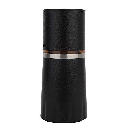 Mini Coffee Machine Manual Coffee Maker Portable Home Pressure Espresso Coffee Maker(Black)