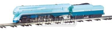 Williams by Bachmann Trains - Santa Fe Blue Goose Locomotive